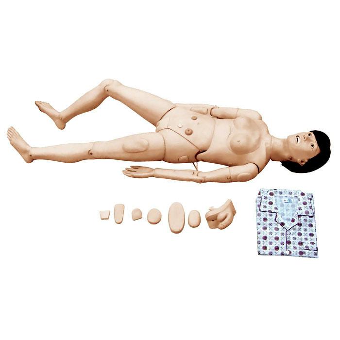 高级组合式基础护理人训练模型(女性)
